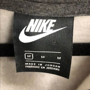Nike Shirts - Grey Nike Hoodie